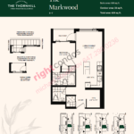 Daniels The Thornhill Markwood Floorplan Layout