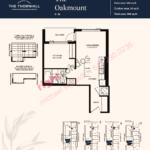 Daniels The Thornhill Oakmount Floorplan Layout