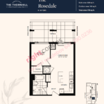 Daniels The Thornhill Rosedale Floorplan Layout