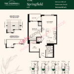 Daniels The Thornhill Springfield Floorplan Layout
