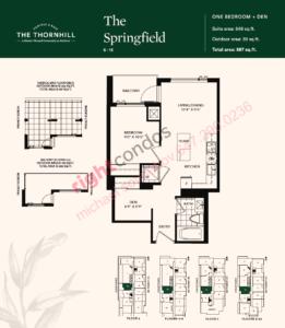 Daniels The Thornhill Springfield Floorplan Layout