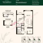 Daniels The Thornhill Westminster Floorplan Layout