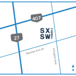SXSW Location Map