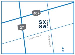 SXSW Location Map