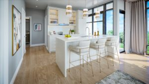 Oro Condos Kitchen Rendering