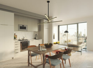 Artistry Condos Suite Interior Render
