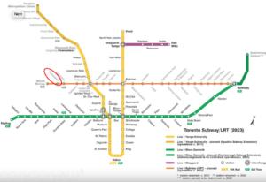 Daniels Keelesdale Transit Map