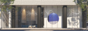 Artistry Condos Lobby Exterior Render