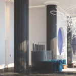 Artistry Condos Lobby interior Render
