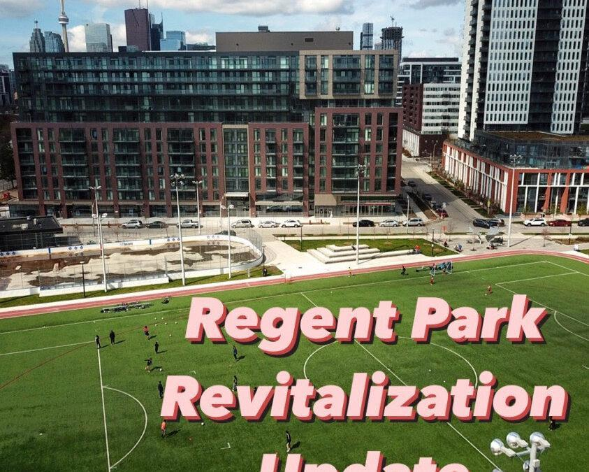Regent Park Revitalization Update