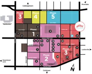 Regent Park Phases of Revitalization