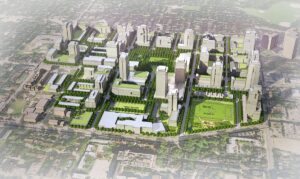 Regent Park Revitalization Rendering
